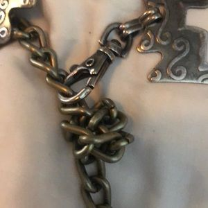 """Accessories - Beautiful Silver Pewter color Belt 31"""" XS"""